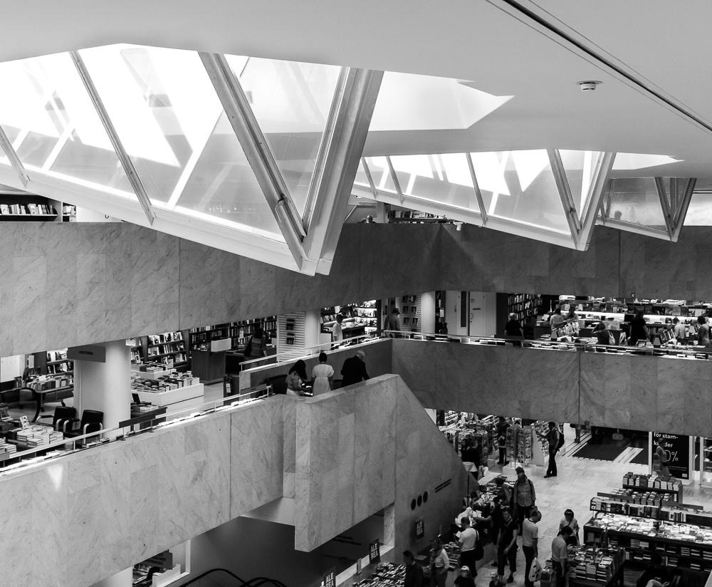 alvar aalto, helsinki, architecture, academic bookshop