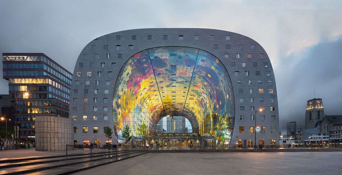 Rotterdam Market Hall by MVRDV architects
