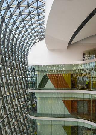 SAHMRI, interior, west atrium