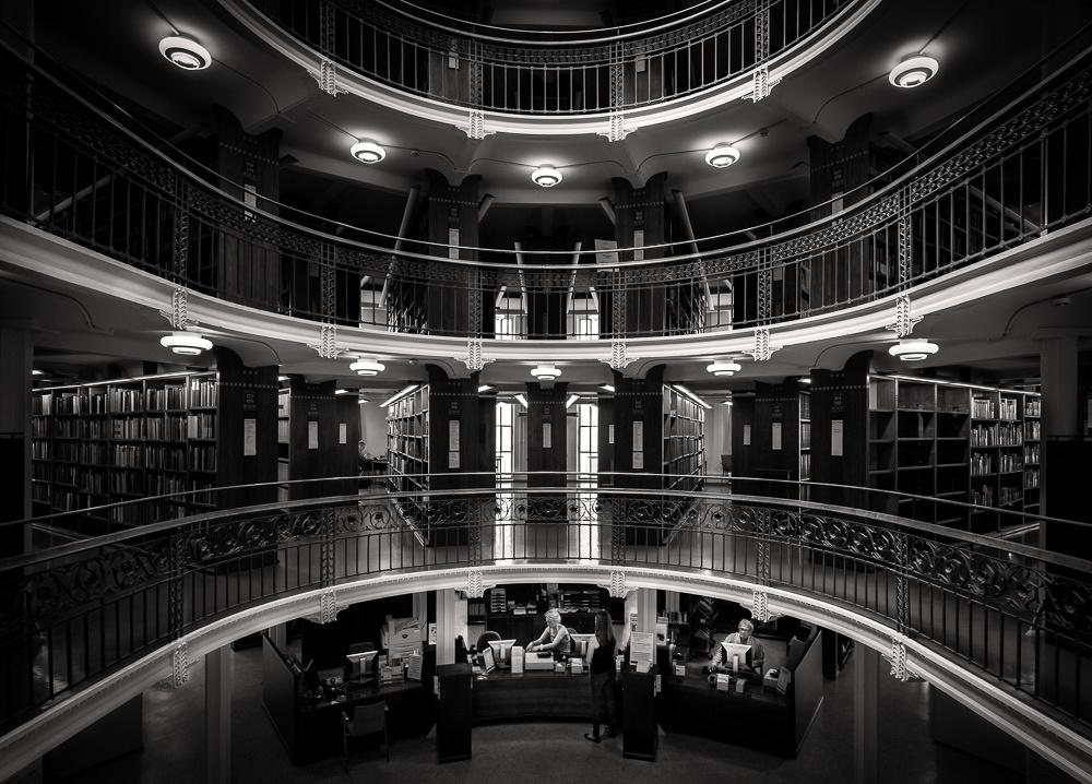 Helsinki, architecture, National Library